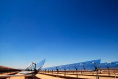 Concentrated solar power panels