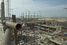 UAE construction