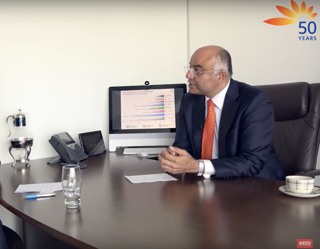Sandeep Chouhan, group head of operations and technology at Mashreq Ban