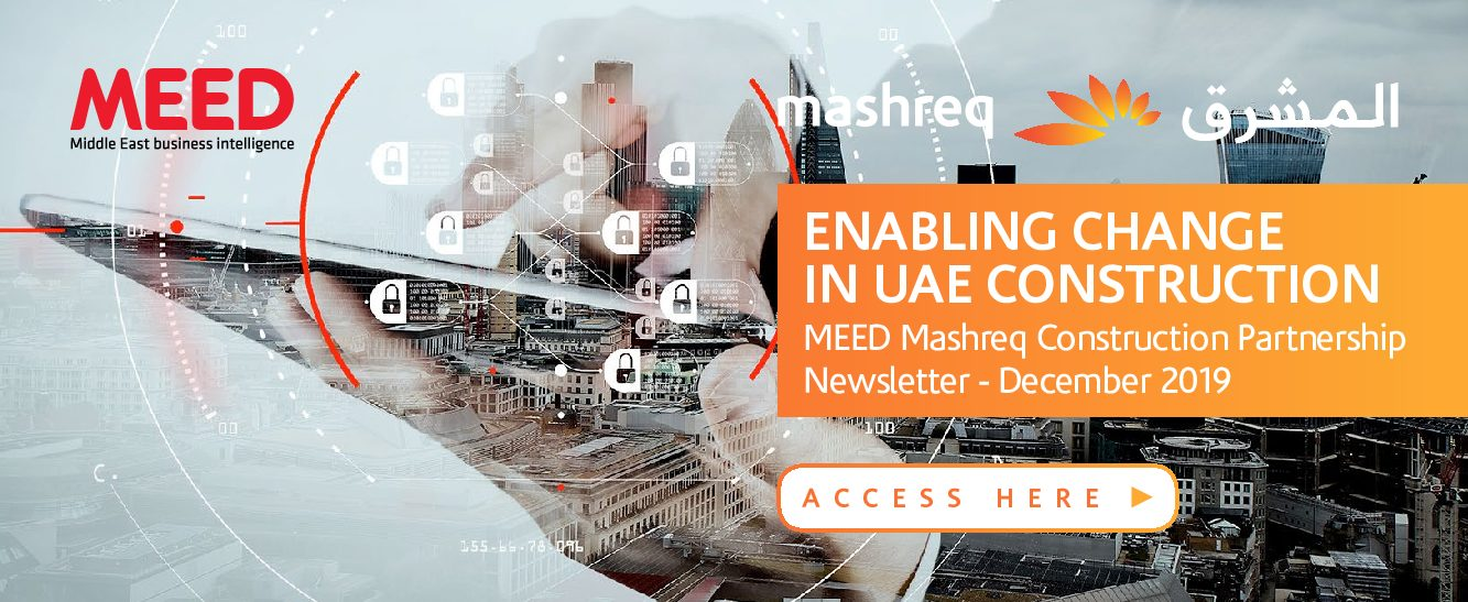 Enabling change in UAE construction – MEED Mashreq Construction Partnership newsletter – December 2019